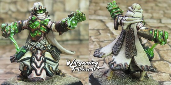 Human Wizard with OSL Magic effect