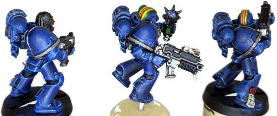 Rainbow Warriors Tac Marines - Back