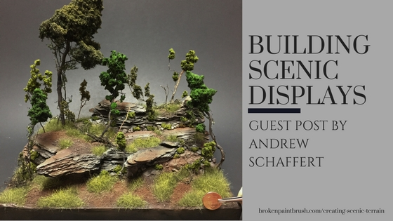 How to Build Scenic Display Pieces
