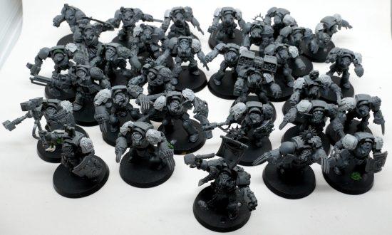 Mentor Legion Terminators Build WIP