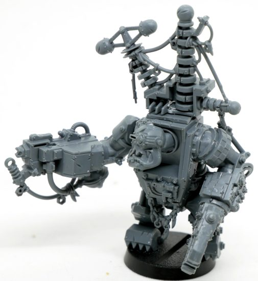 Ork Mek in Megarmor with Kustom Force Field