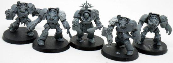 Mentor Legion Terminators with Assault Cannon