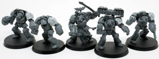 Mentor Legion Terminators with Missile Launcher