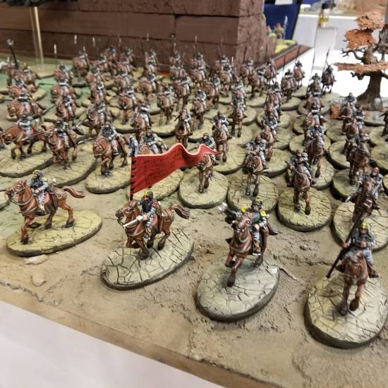 Mounted Death Corp Army
