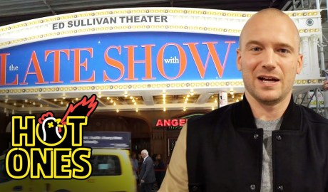 Sean Evans Goes to The Late Show With Stephen Colbert