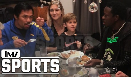 Manny Pacquiao Feasting on Fish Eyes Before His Fight