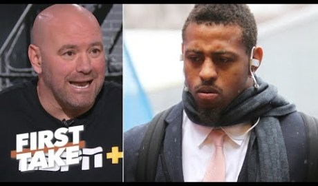 Dana White defends Greg Hardy against critics | First Take