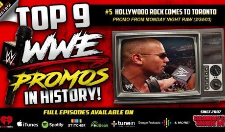 Top 9 WWE Promos | Hollywood Rock Heels On Toronto (2003)