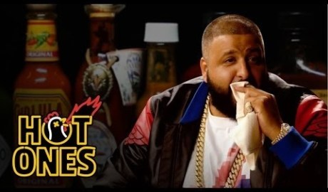DJ Khaled Talks Fuccbois, Finga Licking, and Media Dinosaurs While Eating Spicy Wings