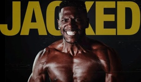 Antonio Brown Workout (JACKED!!)