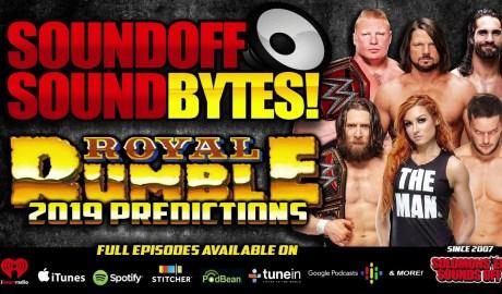 PREDICTIONS: WWE Royal Rumble 2019 | BALOR AND THE BEAST!