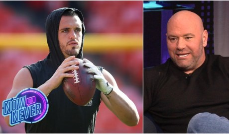 Dana White gets Derek Carr's beef with Stephen A. Smith, talks spectacle of fighting