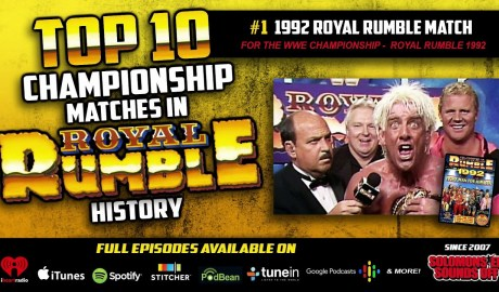 Top 10 Royal Rumble Title Matches (#1 THE 1992 ROYAL RUMBLE MATCH)