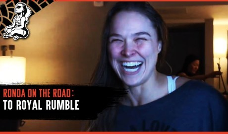 Ronda on the Road... to WWE Royal Rumble