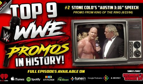Top 9 WWE Promos | The Birth of AUSTIN 3:16 (KOTR 1996)