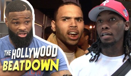Tyron Woodley Says Offset and Chris Brown Beef Should End In The Ring | The Hollywood Beatdown