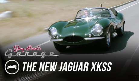 The New Jaguar XKSS - Jay Leno's Garage