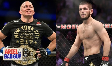 Is Georges St-Pierre retiring a ploy to set up a Khabib Nurmagomedov fight? | Ariel & The Bad Guy