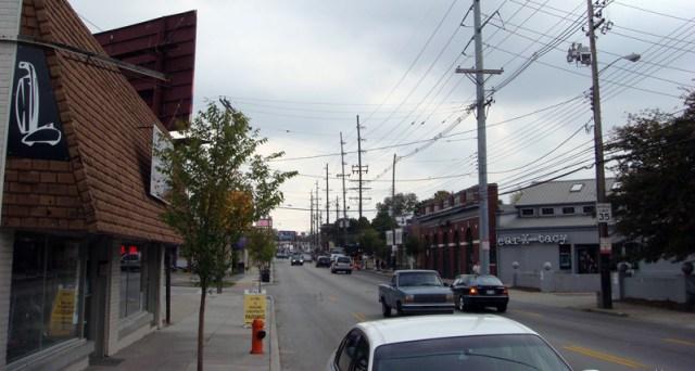 Bardstown Road. (Branden Klayko / Broken Sidewalk)