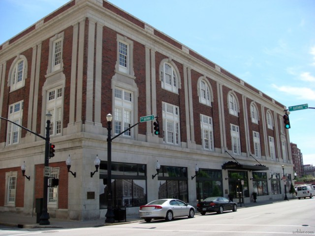 Historic Madrid Building on Third Street