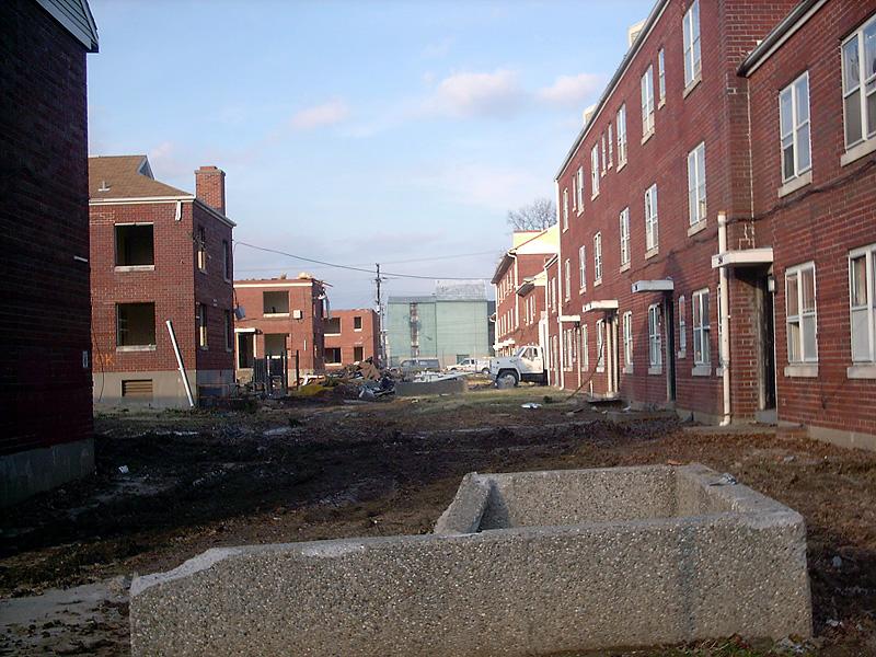 What Is A Housing Project Broken Sidewalk