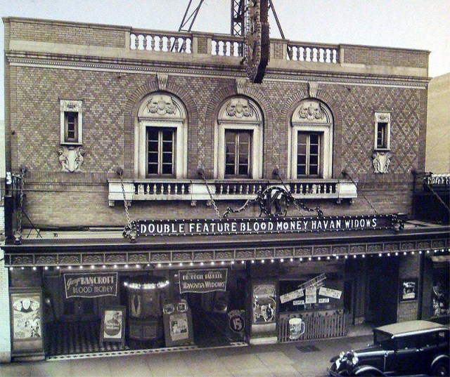 Original appearance of the Kentucky Theater