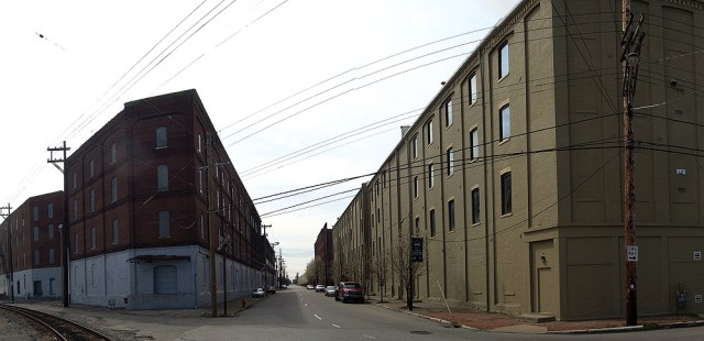 Warehouse district on 15th Street in Shippingport