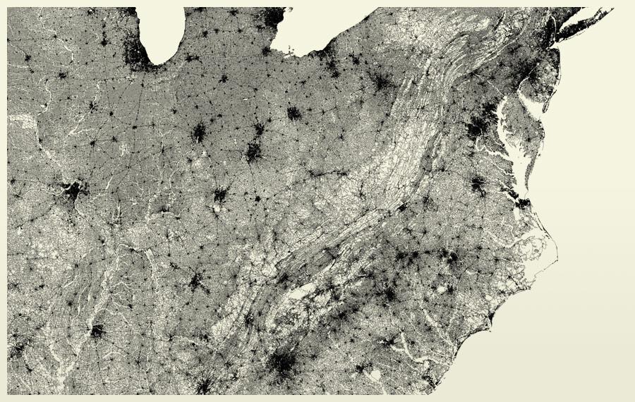 Find Louisville On A Map Showing Only Streets Broken Sidewalk