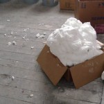 Eco Foam Insulation used in construction