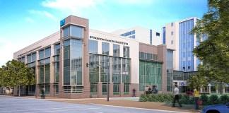 Rendering of new radiation center (Courtesy Norton Hospital)
