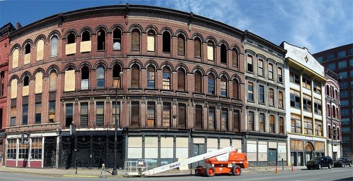 Iron Quarter buildings on Main Street (BS File Photo)
