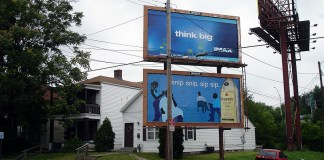 Billboards on Preston Street in Shelby Park (BS File Photo)