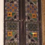 Stained glass window detail (Courtesy Eric Schumacher)
