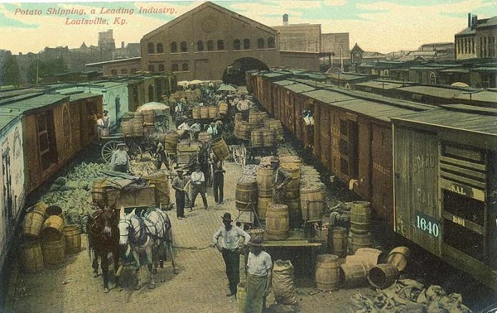 Slugger Field before baseball (BS File Postcard)