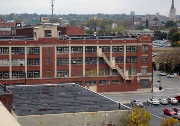 West side of the Progress Paint building (BS File Photo)