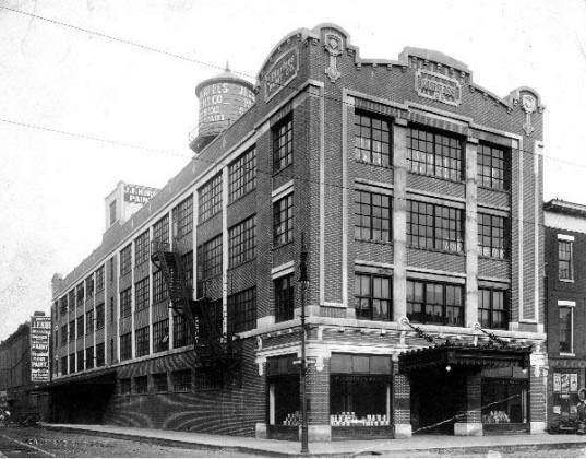 Historic view of the Progress Paint building (UL Photo Archives)