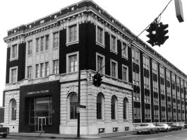 Cosmopolitan building on Third Street (National Register)