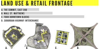Land Use & Retail Frontage (Broken Sidewalk)