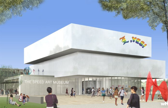 Planned Speed Museum expansion (Courtesy wHY Architecture)