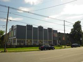 Lincoln Elementary School. (Broken Sidewalk)