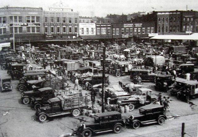 The Haymarket in 1920 (Via Wikipedia)