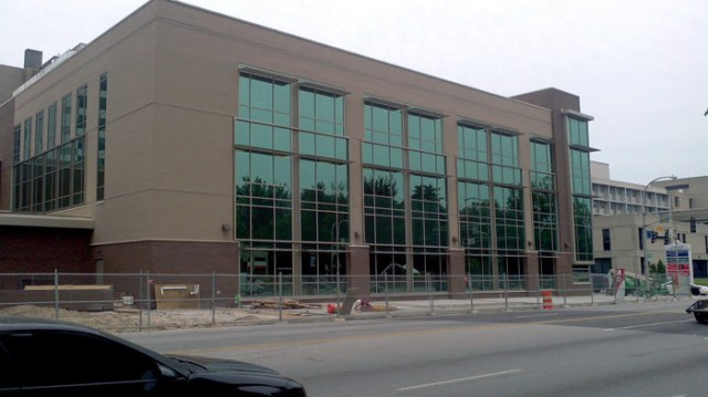 Norton Radiation Center under construction on Broadway (Courtesy Tipster)