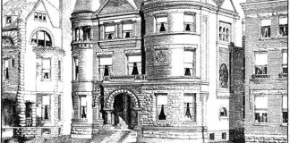 1328 South Fourth Street in 1889. (American Architect & Building News)