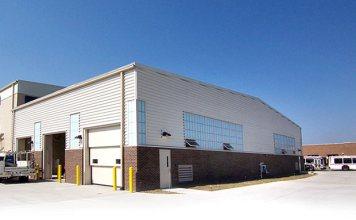TARC's new maintenance facility. (Courtesy TARC)