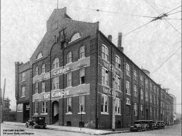 Van Camp Building in 1932. (Courtesy Germantown facebook)