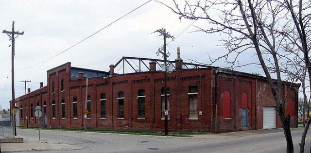 Louisville Railway's Shelby Street Car Barn still exists. (Broken Sidewalk)