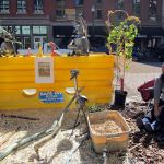 Park(ing) Day at the Kentucky Museum of Art+Craft. (Mary Beth Brown)