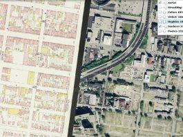 Screenshot of oldlouisvillemaps.com.