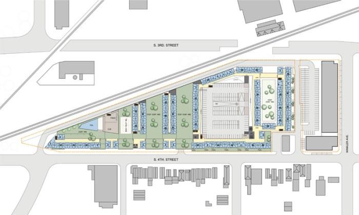Site plan. (Courtesy 5G Studios)