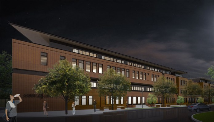 South 4 Lofts looking south on Fourth Street. (Courtesy 5G Studio)